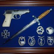 Картина с оружием №34 фото