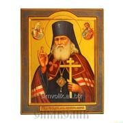 Икона свт. Лука Крымский, Войно-Ясенецкий для авто Артикул:001066ид4002 фото