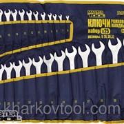 Ключи рожково-накидные набор MASTERTOOL 71-2125 фото