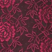 Кружево эластичное, цв. рубиновый , шир. 17см фото