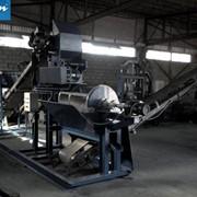 Линия подготовки сырья ЛПС-20 для дробления щебня и отходов камнепиления фото