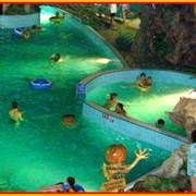 Услуги детских плавательных и игровых бассейнов фото