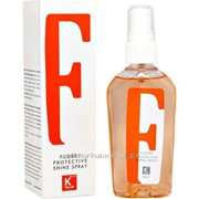 Спрей для защиты волос kallos flossy protective shine spray 80 мл. фото