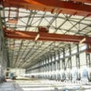 Осуществление монтажа строительных металлоконструкций фото