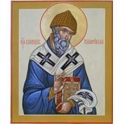 Икона с образом святителя Спиридона Тримифундского фото