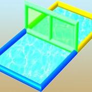 Акваволейбол для бассейна фото