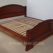 """Двуспальная деревянная кровать """"Ирина"""" во Львове фото"""