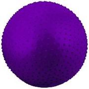 Мяч гимнастический StarFit массажный 75см. GB-301 (Фиолетовый, 8867) фото