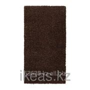 Ковер длинный ворс коричневый АЛЬХЕДЕ фото