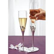 Гравировка (надписи) на бокалах для свадьбы фото