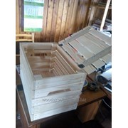 Ящик деревянный с крышкой фото