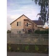 Дома каркасные деревянные строительство под ключ, кровля, внутренняя отделка фото