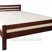 Кровать Элегант 1600*2000 орех темный фото