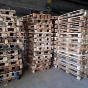 Поддоны деревянные б/у фото