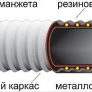 Рукава резиновые напорно-всасывающие с текстильным каркасом неармированые ГОСТ 5398-76 фото