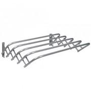Сушилка для белья настенная Nika СН45, длина 45 см, длина сушильного полотна- 2.2 м, серебро фото