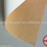 Мелованный картон с крафт оборотом (СКБ) 200-360г/м2 фото