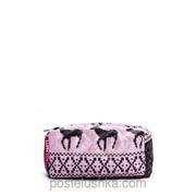 Косметичка cosmetic-deer POOLPARTY Розовый фото