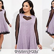 Платье женское трапеция (3 цвета) - АК/-766 фото