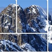 Картина модульная Гора и отражение_2 фото