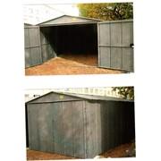 Металлические сборно-разборные гаражи фото