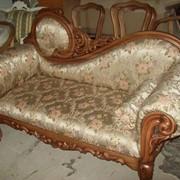 Мебель на каркасе из натурального массива фото