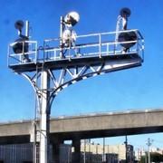 Прожекторные мачты ( металлические мачты освещения ) фото