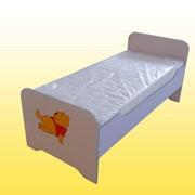 Кровать детская (Лаванда, Сакура), 1436х634х615 мм, Кровати в детский сад купить, Код: 0837