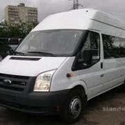 Заказ микроавтобусов с водителем фото