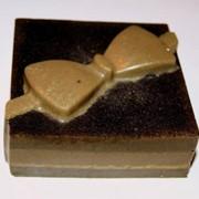 Мыло Кофе с молочным шоколадом. фото