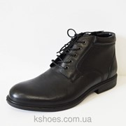 Мужские черные ботинки Kadar фото