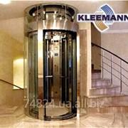 Лифт без машинного помещения электрический KLEEMAN фото