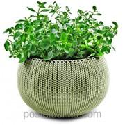 Кашпо COZIES - M Зеленый фото