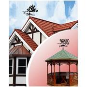 Флюгери для будинків, альтанок, саун, мангалів фото