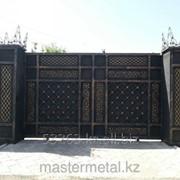 Кованые ворота А00963 фото