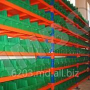 Полочные стелажи (оборудование для склада и магазина) фото