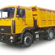 Вывоз бытового упакованного мусора самосвалом МАЗ-5516, 20 тонн фото