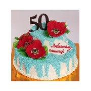 Торт святковий № 341 фото