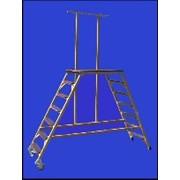 Стремянка-подмость стеклопластиковая с вертикальной опорой ССВ-П Луч ССВ-1,5П фото