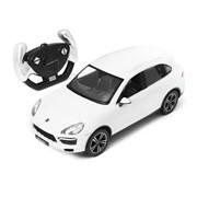 Porsche Cayenne Turbo RASTAR, 1:14 радиоуправляемая модель, Джойстик, Белый фото