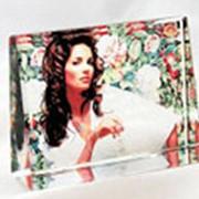 Стекло с фотоизображением, Сувенир, Стеклянная плита с фото. фото
