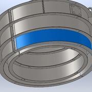 Универсальная виброформа для ЖБИ колец КС – 20.6 (толщина металла 3 и 4 мм, 3 вибратора) фото