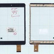 Сенсорное стекло (тачскрин) WQ-FPC-0014-A (197x132mm) черное, Диагональ 7.85 фото