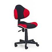 Кресло компьютерное Halmar FLASH (черно-красный) фото