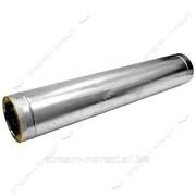 Труба нержавейка утепленная (0, 4 мм) 1, 0 м d 200/260 №250845 фото