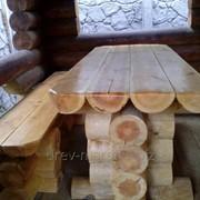 Комплект садовой мебели для беседки фото