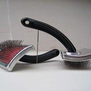 G19 – щетка для вычесывания животных с шерстью средней длины. Без капель. фото