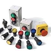 Кнопки управления и кнопочные посты фото