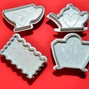 Чаепитие набор плунжеров из 4-х шт. фото