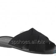 Сабо мужские 369-762, черный фото